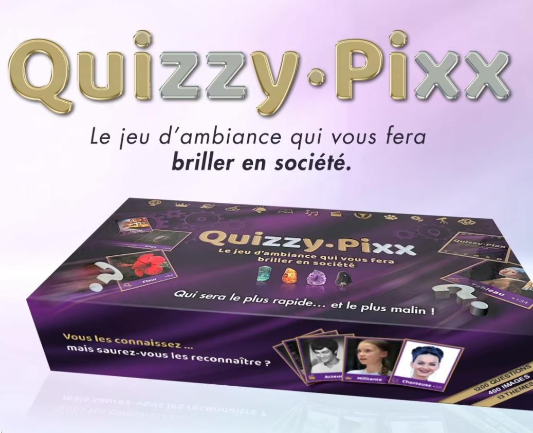 QuizzyPixx – vidéo promotionelle en motion design